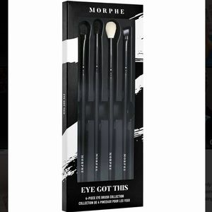 🛑 Morphe Eye Got This 4 piece brush set